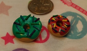 90's doughnuts.  Wooooo! now where are my neon colored sunglasses?!