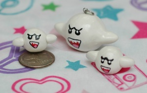 Boo Diddley from Super Mario Brothers. This is another custom request, so I hope she likes him :)