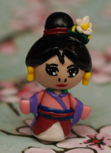 Disney's Mulan, in the style of Flying Mio's tutorial.  She was a lot of fun to make. :)