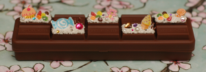 Last but not least is a popular item from my stock and with other crafters - the chocolate bar pencil box with a personal touch.