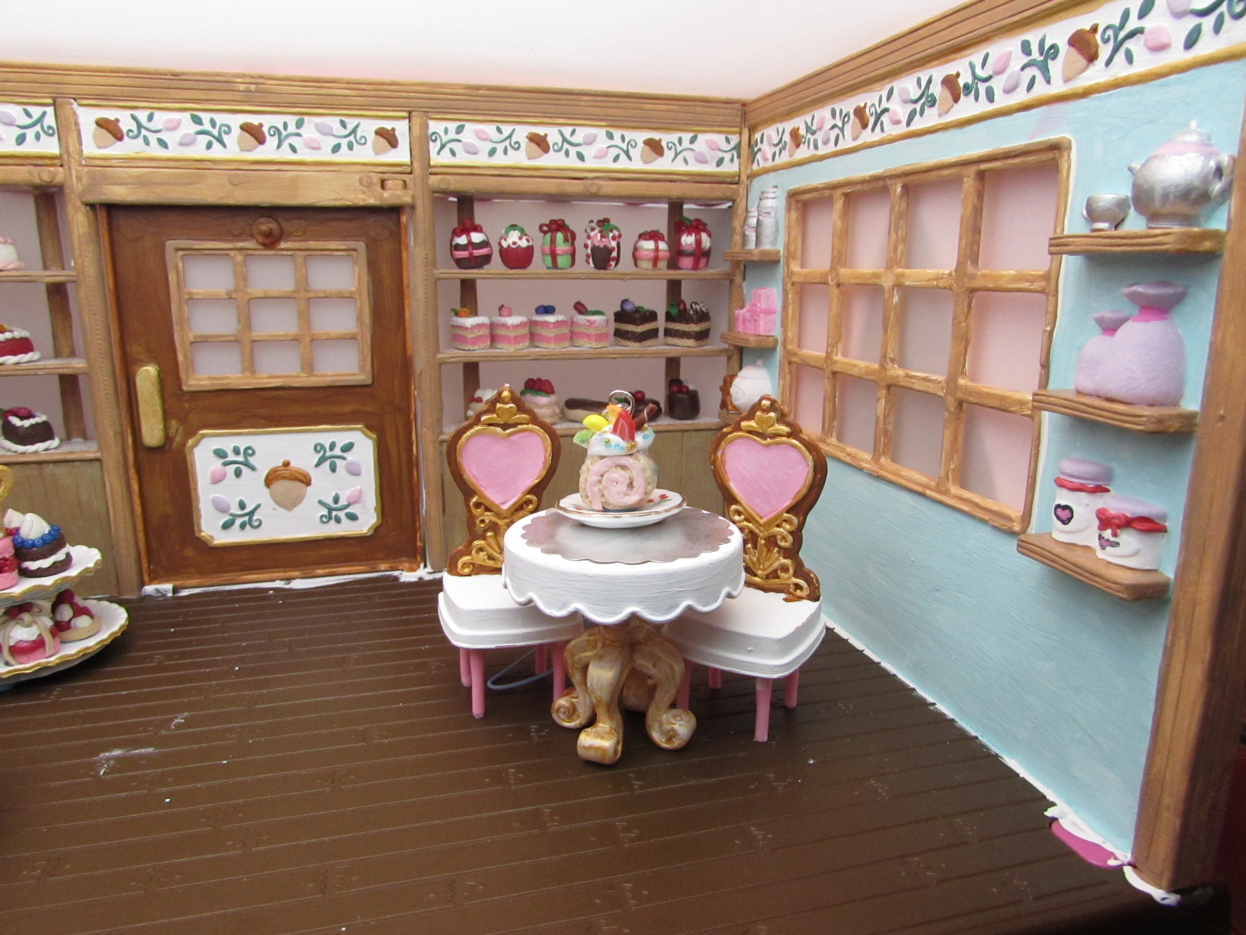 repaint dollhouse furniture | ❦Cute Creations of Decoden and Clay❦